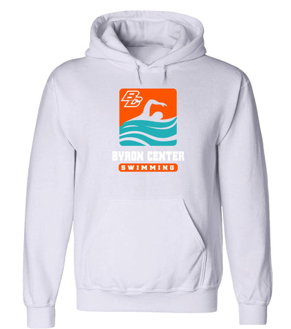 Byron Center - Hooded Sweatshirt - Swimming