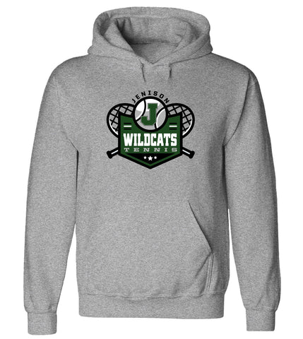 Jenison - Hooded Sweatshirt - Tennis Racquets