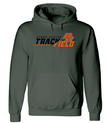 Byron Center - Hooded Sweatshirt - Track & Field
