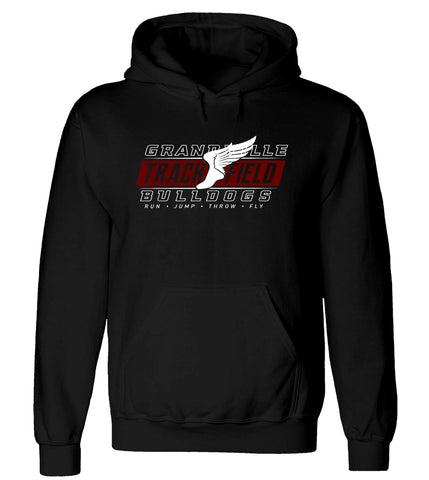 Grandville - Hooded Sweatshirt - Track & Field Wing
