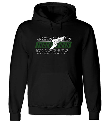 Jenison - Hooded Sweatshirt - Track & Field Wing