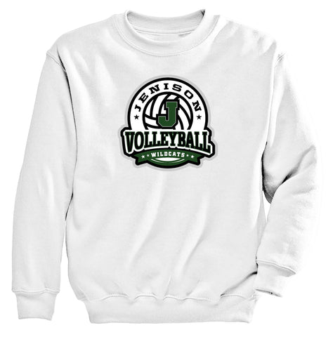 Jenison - Crewneck Sweatshirt - Volleyball