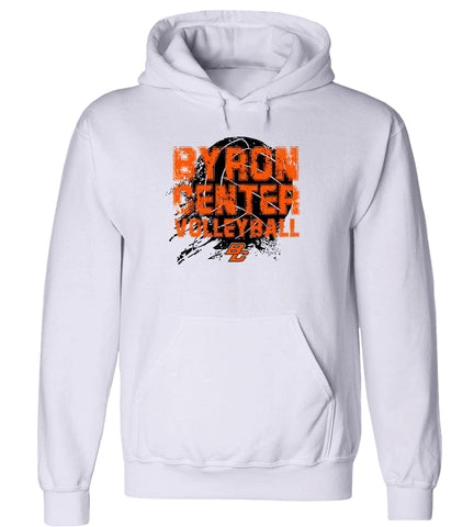 Byron Center - Hooded Sweatshirt - Volleyball