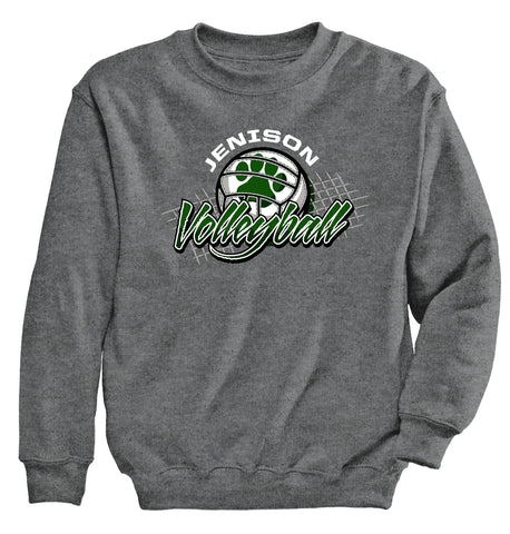 Jenison - Crewneck Sweatshirt - Volleyball Net