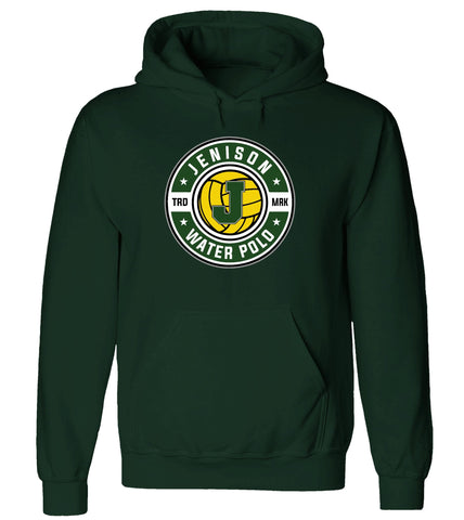 "Jenison - Hooded Sweatshirt - Water Polo ""J"""