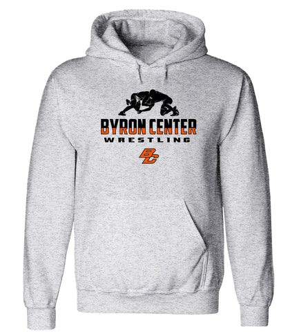 Byron Center - Hooded Sweatshirt - Wrestling