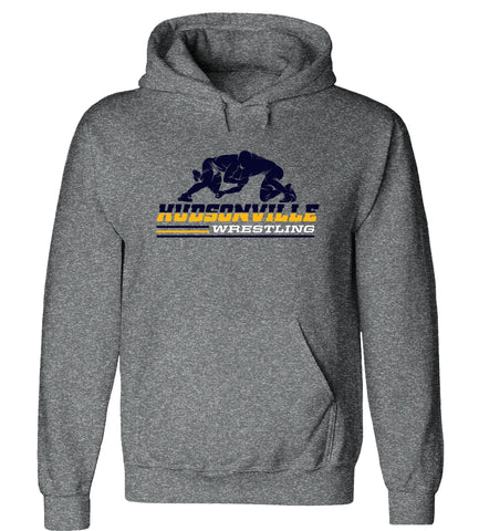 Hudsonville - Hooded Sweatshirt - Wrestling