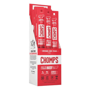 Chomps Original Beef Box of 24
