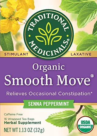Traditional Medicinals Smooth Move® - Senna Peppermint