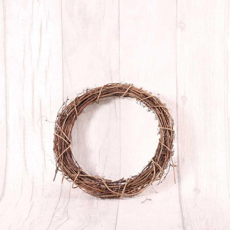 Sconch Accessories Natural Vine Wreath (20cm) 5055977302836