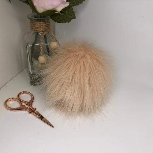 The Crafty Bird Accessories Blush Pink The Crafty Bird Faux Fur XL Pom Pom TCB3BLPI