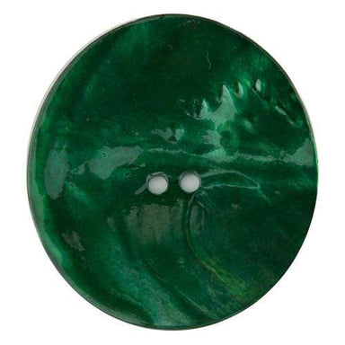 Sconch Buttons Green Shell Button - 50mm