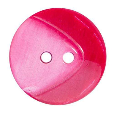 Sconch Buttons Red Two Tone Button - 25mm