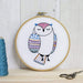 Hawthorn Handmade Needlecraft Hawthorn Handmade Owl Contemporary Embroidery Kit