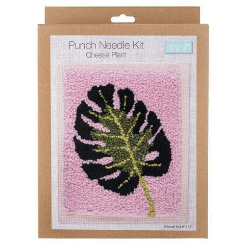Trimits Needlecraft Trimits Punch Needle Kit - Cheese Plant 5022306792033