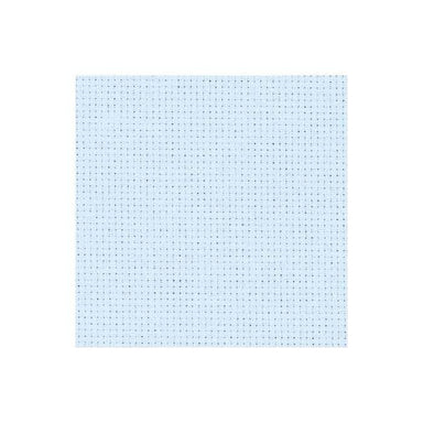Zweigart Needlecraft Baby Blue (5130) Zweigart Aida (14 Count) Fat Quarter