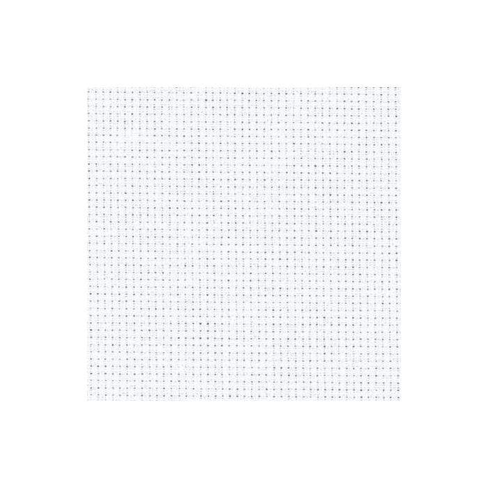 Zweigart Needlecraft White (100) Zweigart Aida (14 Count) Fat Quarter