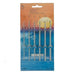 Pony Needles Pony Crochet Hooks - Pack of 6 - Aluminium (2.00mm - 5.00mm) 8901003456509