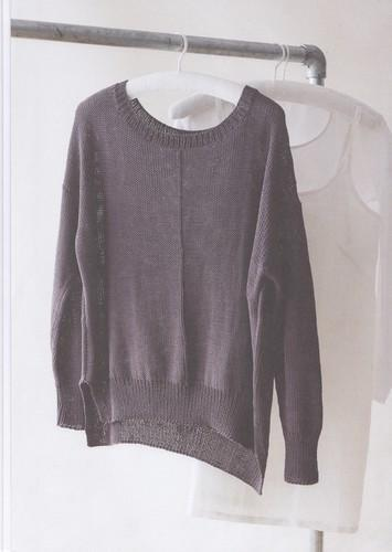 Erika Knight Patterns Erika Knight Studio Linen - Sicily Sweatshirt 5015832415606