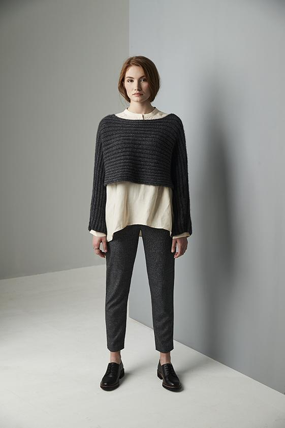 Erika Knight Patterns Erika Knight Wild Wool - Sussex Square Sweater 5015832416801