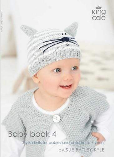 King Cole Patterns Baby Book 4 by King Cole 5015214334310