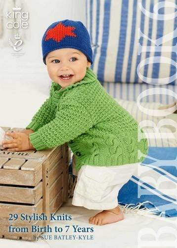 King Cole Patterns Baby Book 6 by King Cole 5015214984584