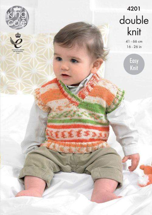 King Cole Patterns King Cole Cherish & Cherished DK - Sweaters & Tank Top (4201) 5015214089067