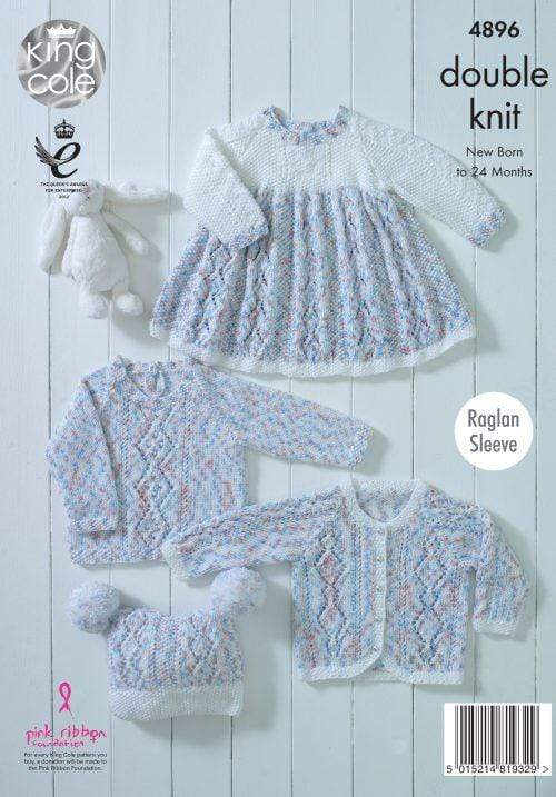King Cole Patterns King Cole Cherish Dash DK - Baby Set (4896) 5015214819329