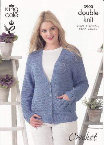 King Cole Patterns King Cole DK - Cardigans (3900)