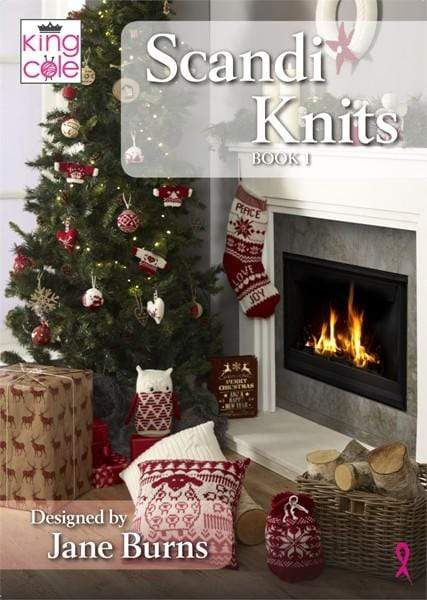 King Cole Patterns Scandi Knits Book 1 by King Cole 5057886000728