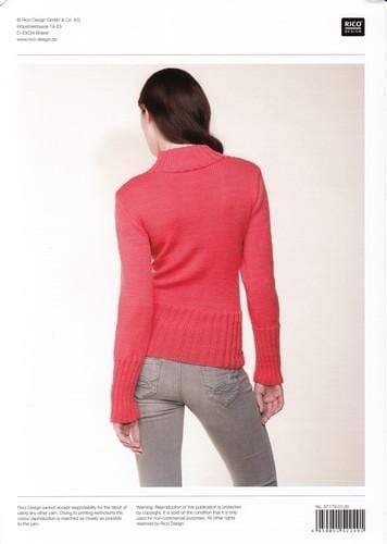 Rico Design Patterns Rico Design Essentials Merino DK - Cable Front Sweater (179) 4050051522491