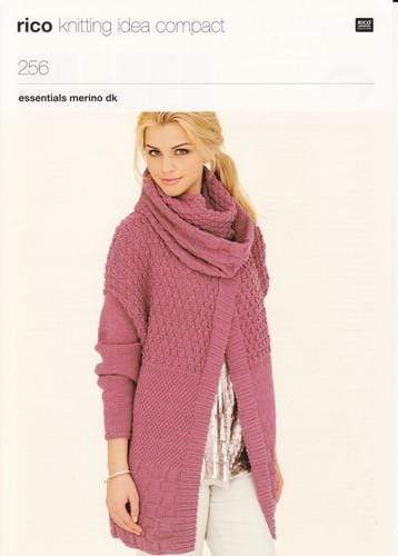 Rico Design Patterns Rico Design Essentials Merino DK - Ladies' Jackets and Snood (256) 4050051531509