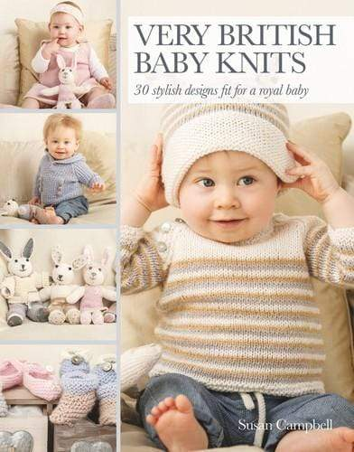 Search Press Patterns Very British Baby Knits 9781782212218