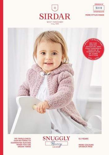 Sirdar Patterns Sirdar Snuggly Bunny - Baby Jackets (5310) 5024723953103