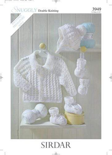 Sirdar Patterns Sirdar Snuggly DK - Jackets, Hats, Bootees and Mittens (3949) 5024723939497
