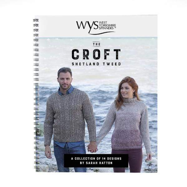 West Yorkshire Spinners Patterns The Croft Pattern Book by Sarah Hatton 5053682599992
