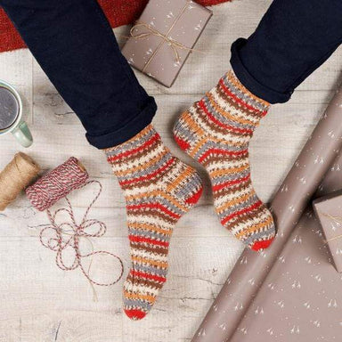 West Yorkshire Spinners Patterns West Yorkshire Spinners Christmas Socks Collection One by Winwick Mum 5053682569773