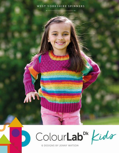 West Yorkshire Spinners Patterns West Yorkshire Spinners ColourLab DK - Kids by Jenny Watson 5053682889680