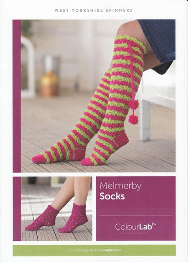West Yorkshire Spinners Patterns West Yorkshire Spinners ColourLab DK - Melmerby Socks Pattern by Anna Nikipirowicz 5053682889758