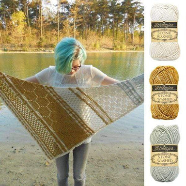 Scheepjes Yarn Hotel of Bees Shawl Yarn Pack (Original Colourway)