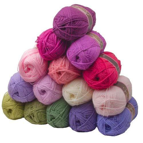 Stylecraft Yarn Stylecraft Special DK - Attic24 Sweet Pea CAL Pack