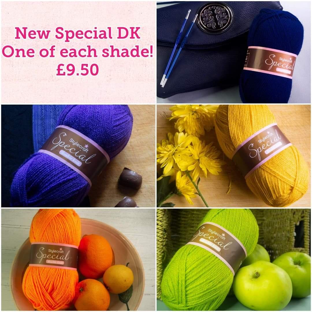 Stylecraft Yarn Stylecraft Special DK New Shades (Pack of 5 Balls)