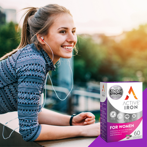 Active Iron & B Complex Plus for Women - Twin Pack