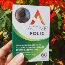 Load image into Gallery viewer, New Active Folic | Folic Acid for Pregnancy | 60 Tablet Pack
