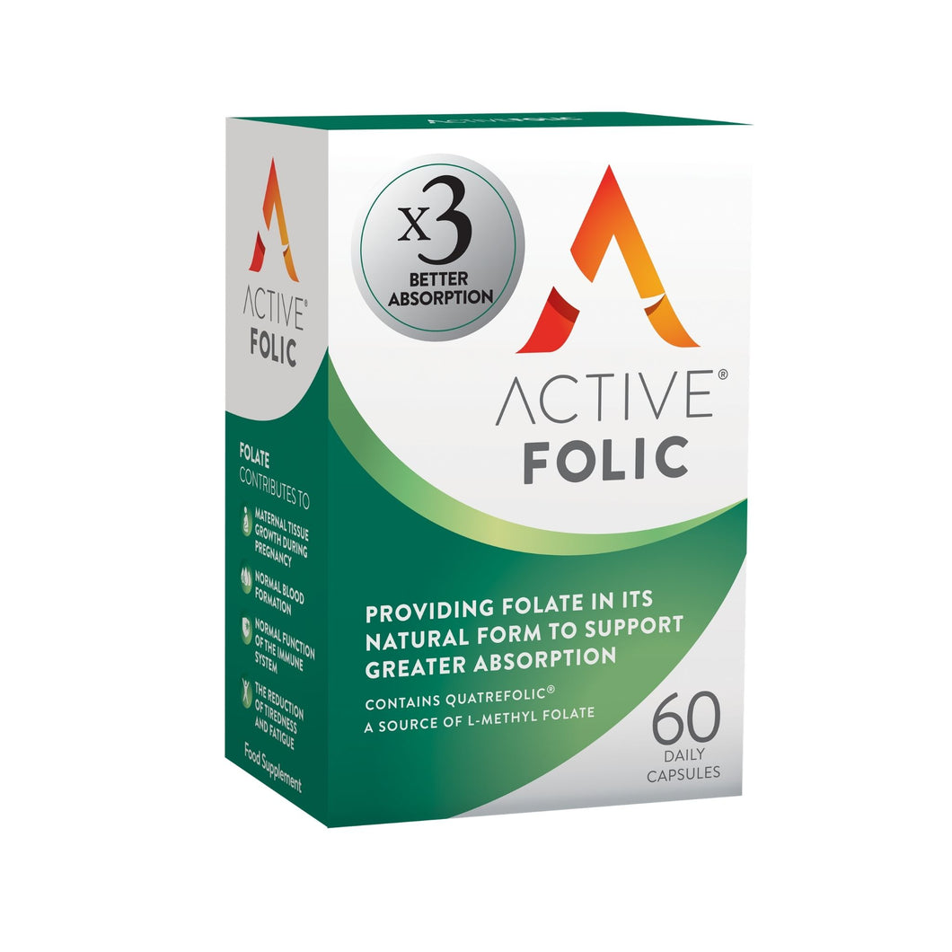 New Active Folic | Folic Acid for Pregnancy | 60 Tablet Pack