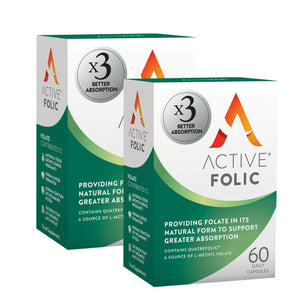 New Active Folic | Folic Acid  - Twin Pack