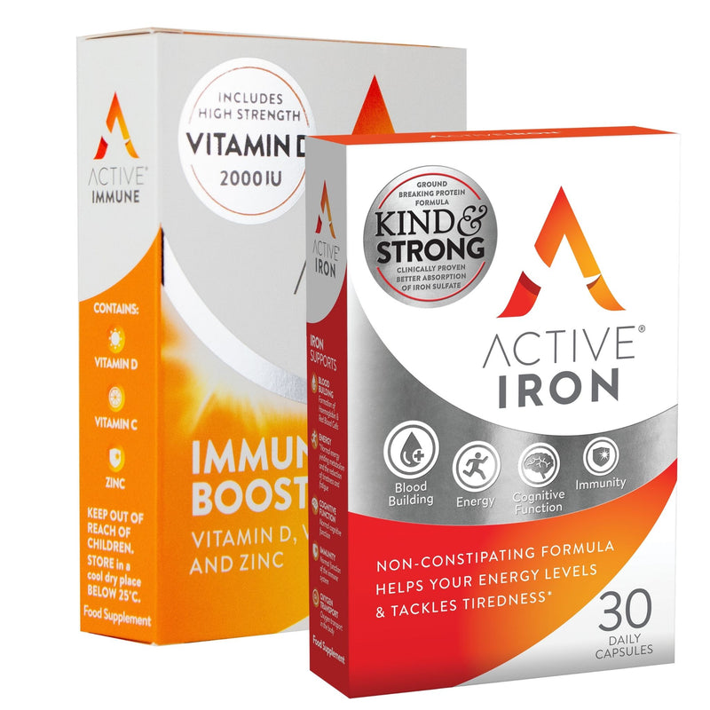 Active Iron & Active Immune | 30 Day Bundle