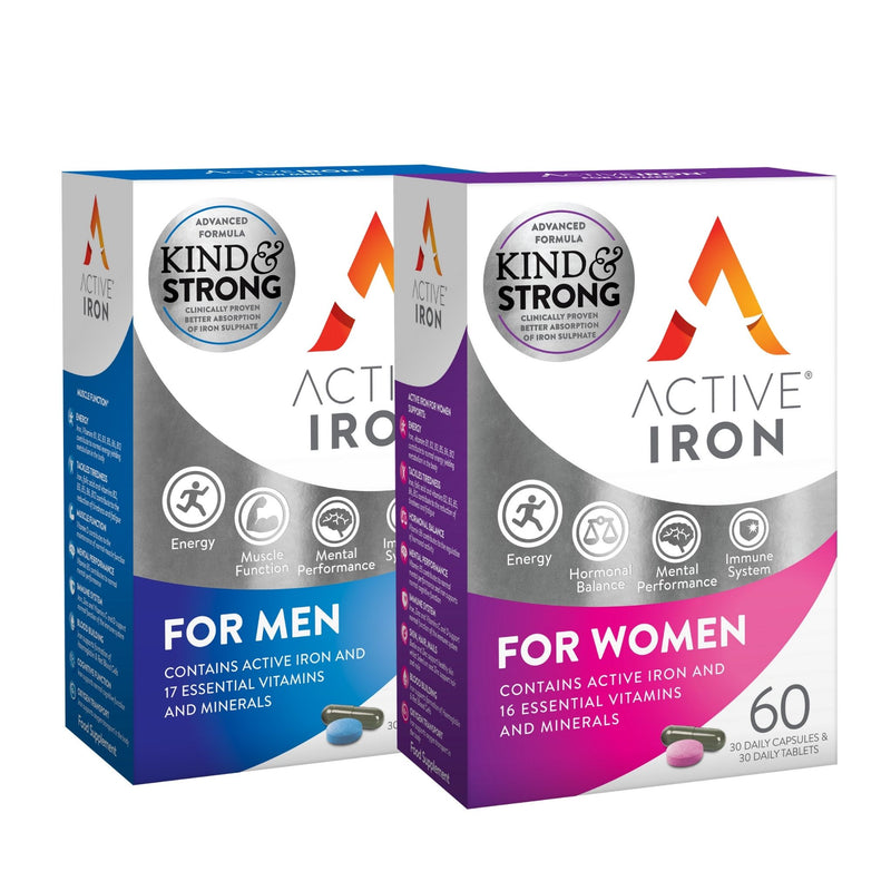 Active Iron For Men & Women - Twin Pack