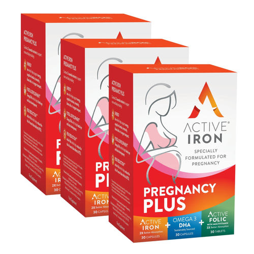 Active Iron Pregnancy Plus | 90 Day Supply