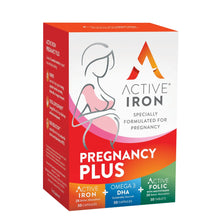 Load image into Gallery viewer, Active Iron Pregnancy Plus | 21 Essential Prenatal Vitamins & Minerals